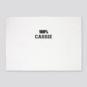 100% CASSIE 5'x7'Area Rug