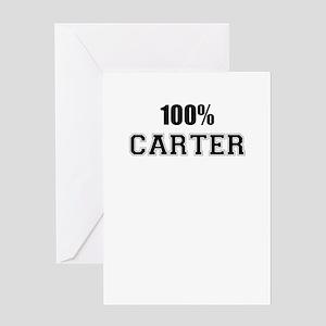 100% CARTER Greeting Cards