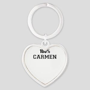 100% CARMEN Keychains