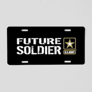 U.S. Army: Future Soldier ( Aluminum License Plate