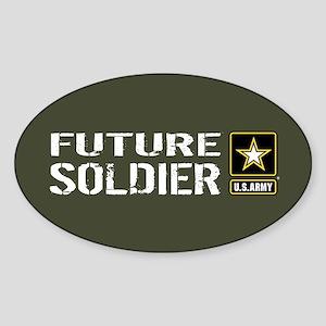 U.S. Army: Future Soldier (Military Sticker (Oval)