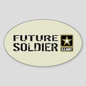 U.S. Army: Future Soldier (Sand) Sticker (Oval)