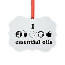 essential oil love Ornament