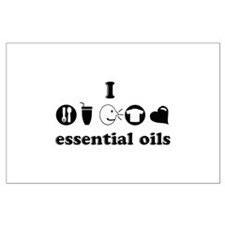 essential oil love Posters