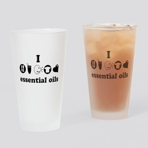 essential oil love Drinking Glass