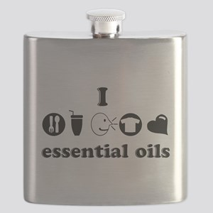 essential oil love Flask