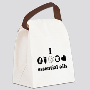 essential oil love Canvas Lunch Bag