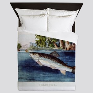 fish Queen Duvet
