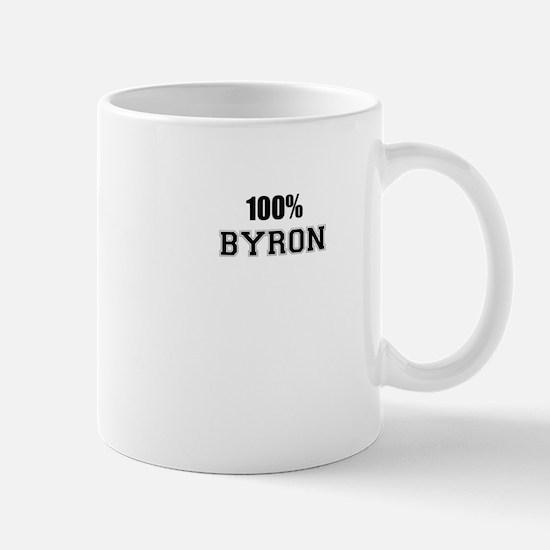100% BYRON Mugs