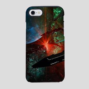 Space-Ships Platoon iPhone 8/7 Tough Case