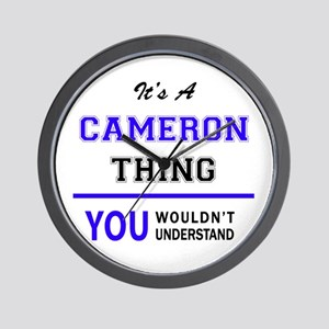 CAMERO thing, you wouldn't understand! Wall Clock
