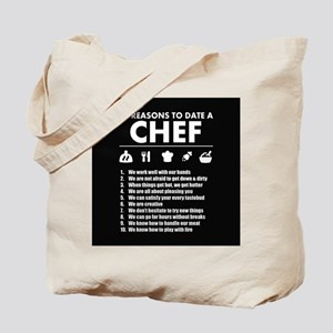 Reasons To Date A Chef Tote Bag