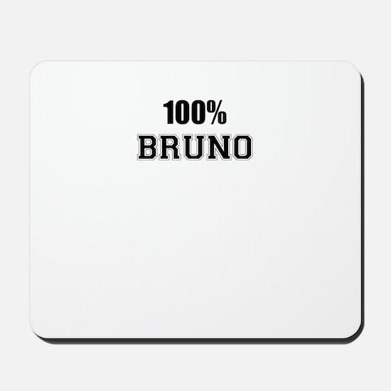 100% BRUNO Mousepad
