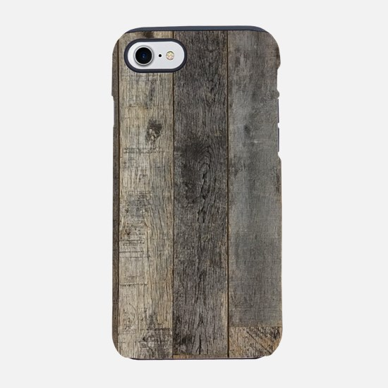 country farmhouse barn wood iPhone 8/7 Tough Case