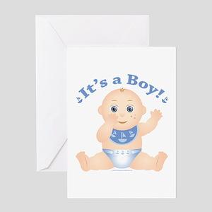 """* It's a Boy! """" Greeting Card"""