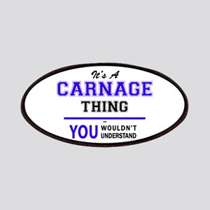 CARNAGE thing, you wouldn't understand! Patch