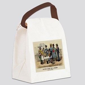 eating crow Canvas Lunch Bag