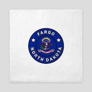 Fargo North Dakota Queen Duvet