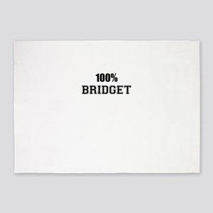 100% BRIDGET 5'x7'Area Rug