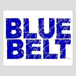 BLUE BELT 1 Small Poster