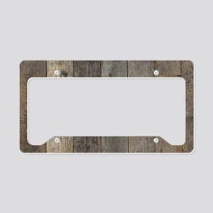 country farmhouse barn wood License Plate Holder