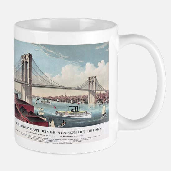 brooklyn bridge Mugs