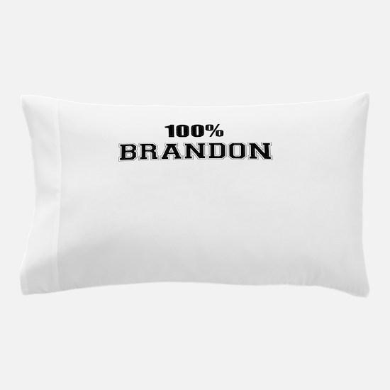 100% BRANDON Pillow Case