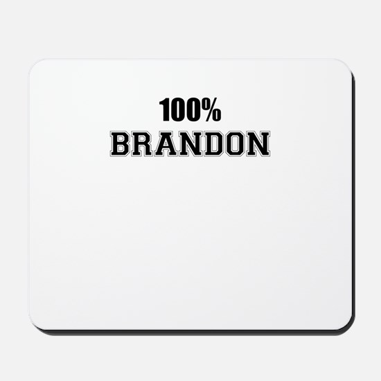 100% BRANDON Mousepad