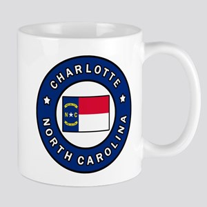Charlotte North Carolina Mugs