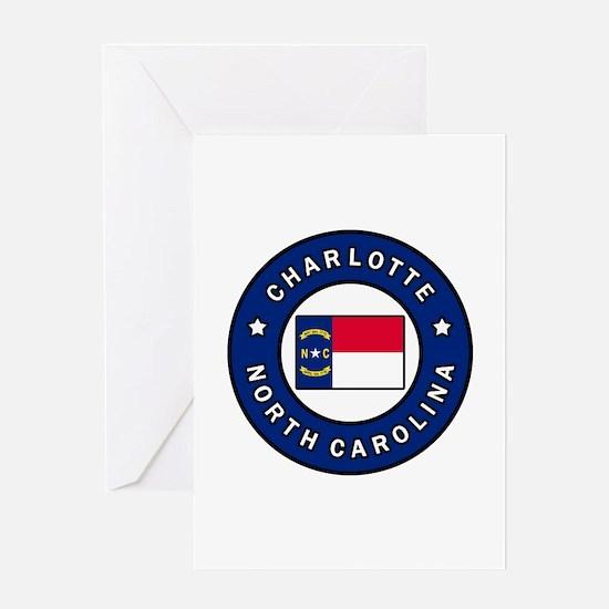 Charlotte North Carolina Greeting Cards