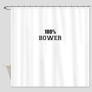 100% BOWER Shower Curtain