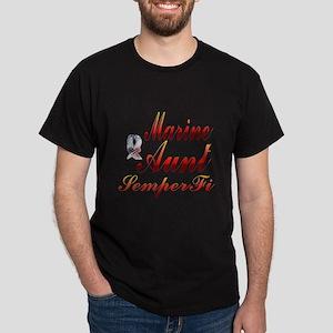 marine aunt semper fi Dark T-Shirt