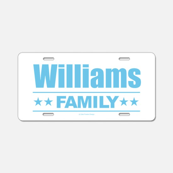 Cute Family reunion Aluminum License Plate