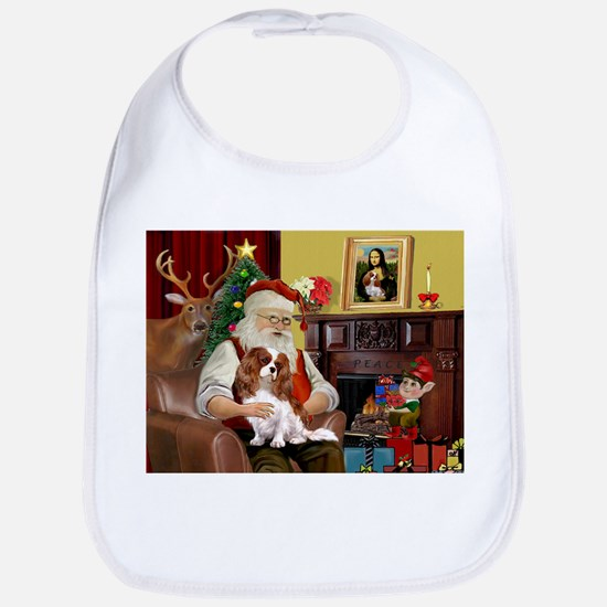 Santa's Cavalier (BL) Bib