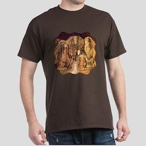 Magical World 4 Trolls Fantasy Dark T-Shirt