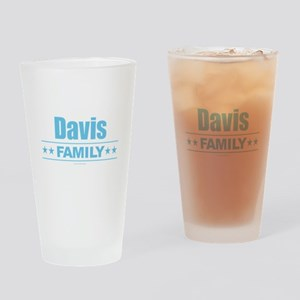 Davis Family Drinking Glass