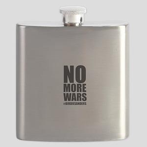 No More Wars Flask
