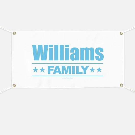 Williams Family Banner
