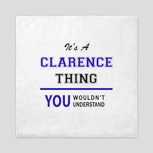 CLARA thing, you wouldn't understand! Queen Duvet