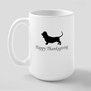 Happy Thanksgiving Large Mug