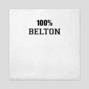 100% BELTON Queen Duvet