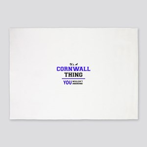 CORNWALL thing, you wouldn't unders 5'x7'Area Rug