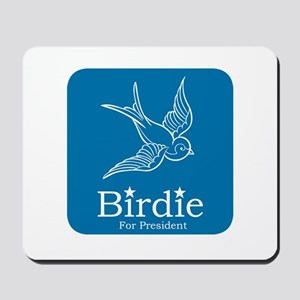 Birdie for President Mousepad