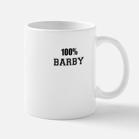 100% BARBY Mugs