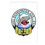 USS Bennington (CVS 20) Postcards (Package of 8)