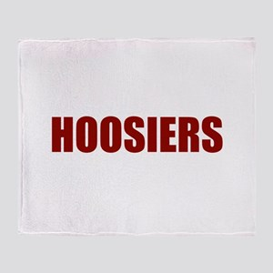 Hoosier Throw Blanket