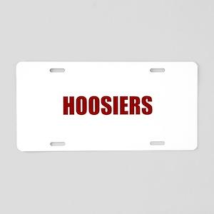 Hoosier Aluminum License Plate