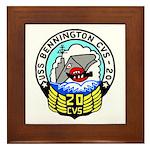 USS Bennington (CVS 20) Framed Tile