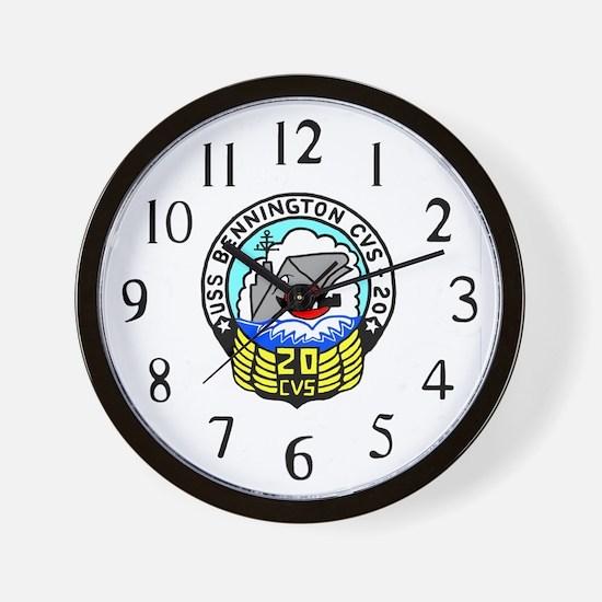 USS Bennington (CVS 20) Wall Clock