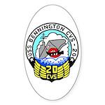 USS Bennington (CVS 20) Oval Sticker